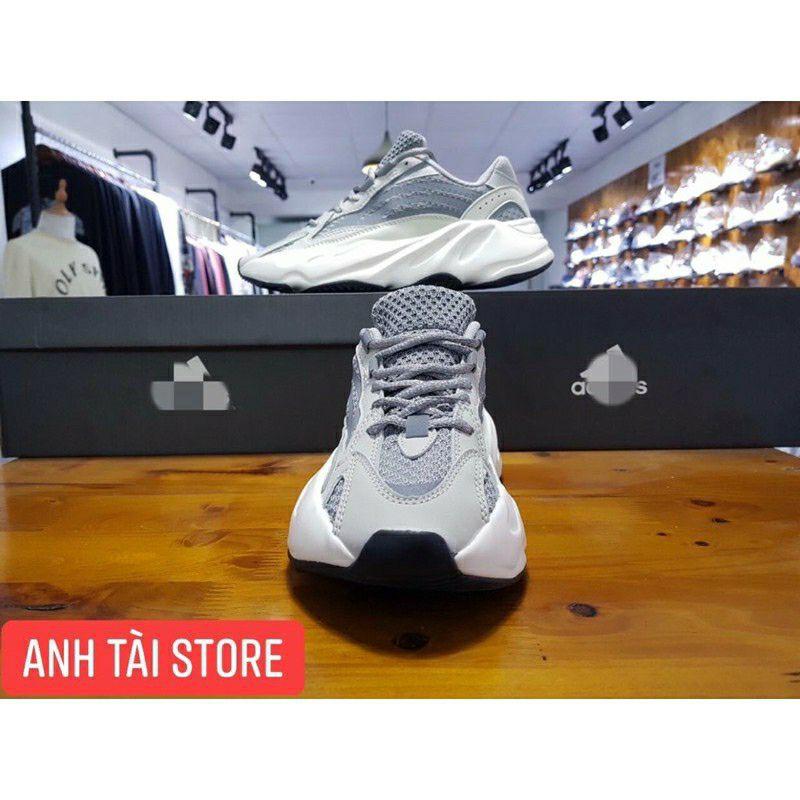 (Bản 11 sẵn nhiều mẫu+tặng bok+phụ kiện+quà)Giày thể thao nam nữ yz 700 phản quang nhẹ êm chân thoáng khí...