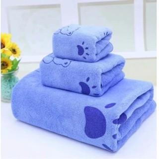Combo 3 khăn gồm khăn tăm- Khăn mặt- Khăn lau thumbnail