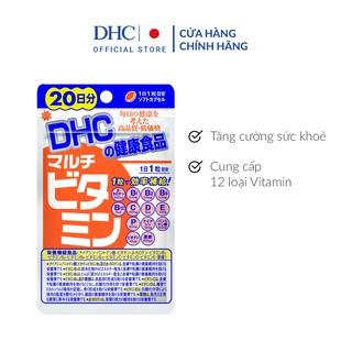 Viên uống DHC Nhật Bản Multi Vitamin Tổng Hợp 20v/gói và 60v/gói