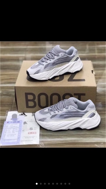 (💥Bản zep⚡️ful bok ⚡️Tất⚡️quà💥) Giày thể thao nam,nữ Yz 700 phản quang,đế bot mềm nhẹ tốt cho sức khoẻ tăng chiểu cao