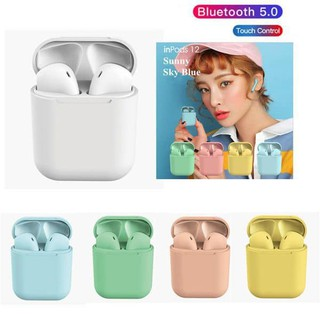 Tai nghe Bluetooth Inpods 12 cao cấp thumbnail