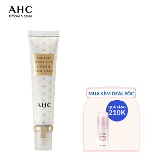 Kem Mắt Chống Lão Hóa Cho Mắt Và Mặt AHC The Pure Real Eye Cream For Face (30ml) thumbnail
