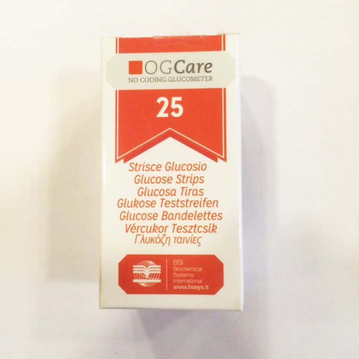 Que sử dụng cho máy đo đường huyết Ogcare (hộp 25 que) - 3285164 , 433471410 , 322_433471410 , 220000 , Que-su-dung-cho-may-do-duong-huyet-Ogcare-hop-25-que-322_433471410 , shopee.vn , Que sử dụng cho máy đo đường huyết Ogcare (hộp 25 que)
