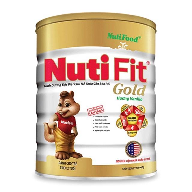 Sữa bột NutiFood Nuti Fit Gold 900g