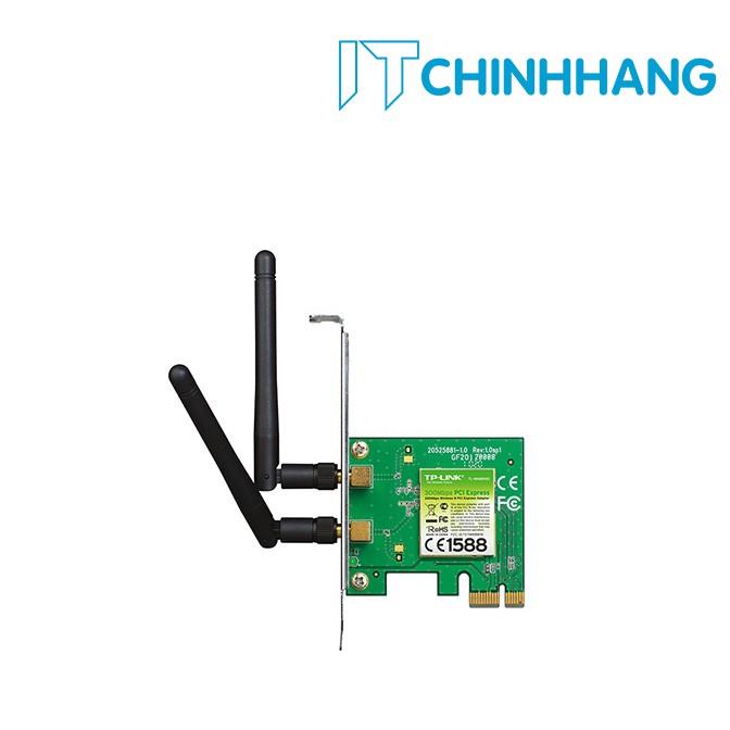 Card WIFI PCI TP-Link WN881ND chuẩn N không dây 300Mbps - HÃNG PHÂN PHỐI CHÍNH THỨC