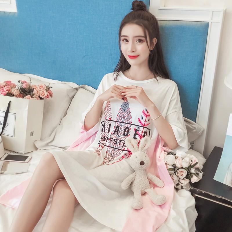 Đồ ngủ nữ mùa hè Hàn Quốc ngọt ngào dành cho phụ nữ mang thai lỏng lẻo chất béo cotton XL XL váy ngủ mùa hè dịch vụ tại - 15023055 , 2808179780 , 322_2808179780 , 300300 , Do-ngu-nu-mua-he-Han-Quoc-ngot-ngao-danh-cho-phu-nu-mang-thai-long-leo-chat-beo-cotton-XL-XL-vay-ngu-mua-he-dich-vu-tai-322_2808179780 , shopee.vn , Đồ ngủ nữ mùa hè Hàn Quốc ngọt ngào dành cho phụ nữ