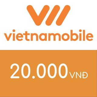 Hình ảnh Nạp điện thoại Vietnamobile 20K-0