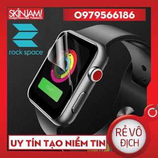 <Tặng Miếng Lau> PPF Rock Space Apple WatchSeries 1 2 3 4 5 6 size 38 40 42 44 mm Trong và Mờ Chống Vân Tay