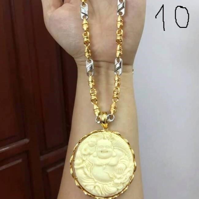 Vòng Cổ , Dây Chuyền Nam Thời Trang Cao Cấp không phai - ️Dây chuyền Mạ vàng 18k