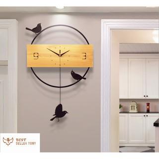 Đồng hồ quả lắc treo tường Bird cao cấp [Best Seller Tony]
