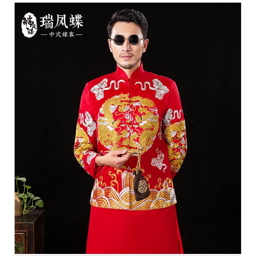 áo vest nam phong cách trung hoa