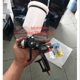 Súng Phun Sơn Seba ( Sơn oto xe máy ) Đầu Phun Chuẩn 1.3mm .