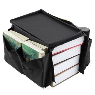 Foldable Cup Space Saving Large Capacity Sofa Armrest Multi Pockets Side Mount Storage Bag