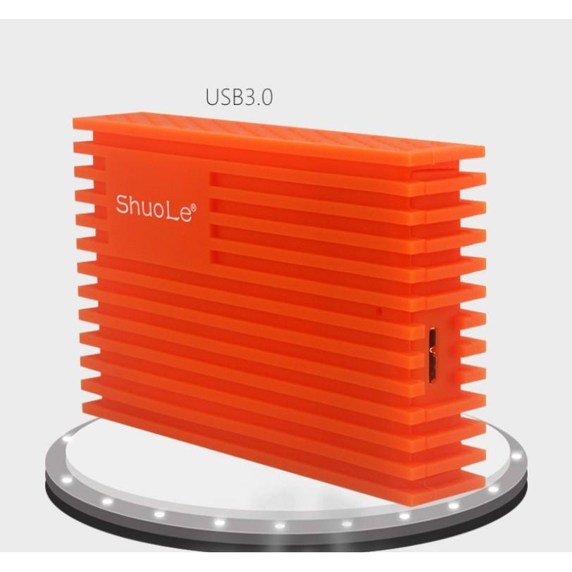 Hộp Đựng Ổ Cứng Laptop HDD BOX Cao Su Chống Rơi 2.5 inch SATA USB 3.0 GS-U03