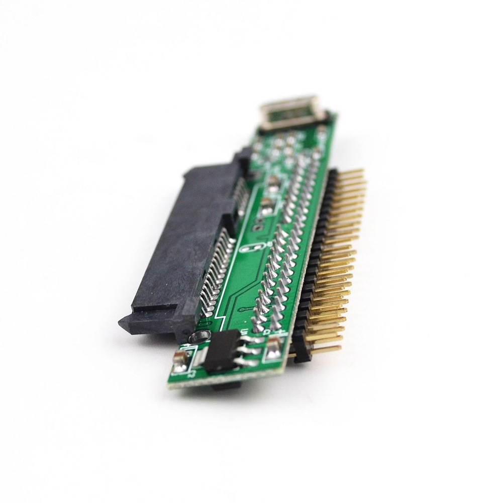 7+15 Pin Support 44Pin For Laptop Female Hard Drive SATA To IDE Male Converter Electronics SSD HDD Adapter