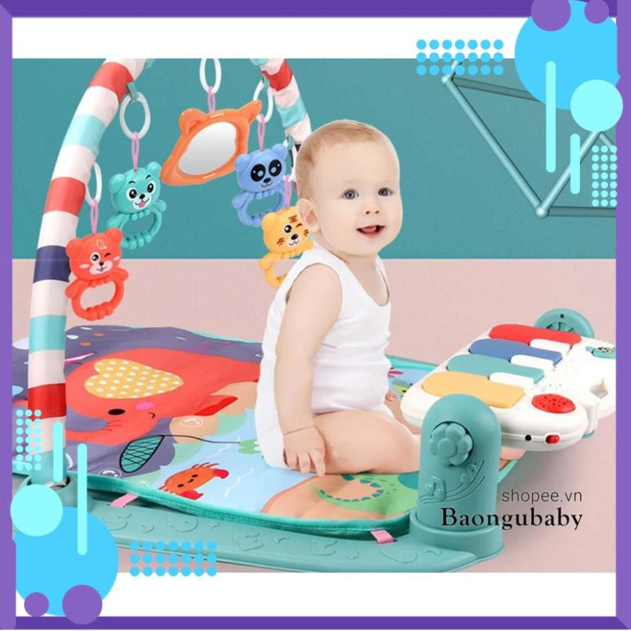 [FREESHIP] |Hàng chính hãng UMOO| Thảm nhạc cho bé, trẻ sơ sinh nằm chơi, vận động Baby Gym Mat