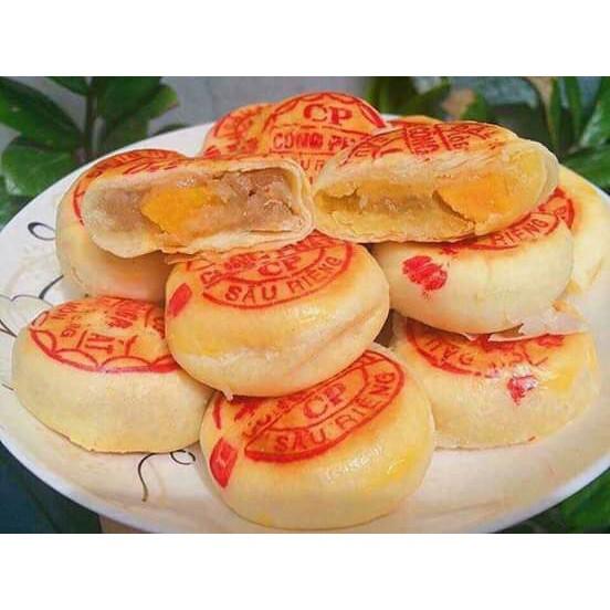 1 Gói Bánh Pía Đậu Xanh Sầu Riêng Hảo Hạng 400g (4 bánh)