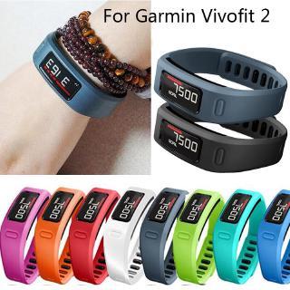 Dây Đeo Silicon Mềm Cho Đồng Hồ Thông Minh Garmin Vivofit 2