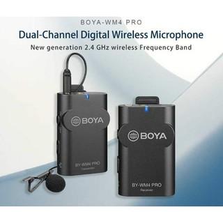 Micro không dây cho điện thoại, máy ảnh Boya BY-WM4 Pro, WM4 Pro K2 chính hãng