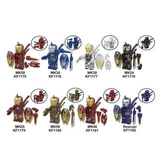 Xếp Hình Minifigures Các Bộ Giáp Nano Của Người Sắt Iron Man KF6093 – Đồ Chơi Lắp Ráp Sáng Tạo