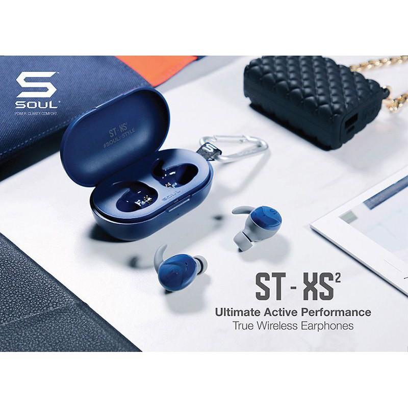 Tai nghe bluetooth TWS Soul ST-XS2 chính hãng,bluetooth 5.0,kháng nước,nghe nhạc 25h