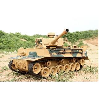 Xe tăng điều khiển bắn đạn thật Tiger