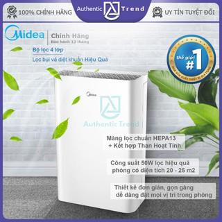Máy Lọc Không Khí MIDEA KJ20FE-BD chính hãng -Tạo Ion âm-khử mùi – lọc 99,97% bụi – bh 12 tháng