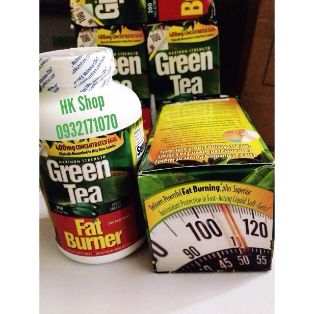 Thuốc Giảm Cân GREEN TEA FAT BURNER Hãng Xách Tay Mỹ - 2580813 , 85380016 , 322_85380016 , 670000 , Thuoc-Giam-Can-GREEN-TEA-FAT-BURNER-Hang-Xach-Tay-My-322_85380016 , shopee.vn , Thuốc Giảm Cân GREEN TEA FAT BURNER Hãng Xách Tay Mỹ