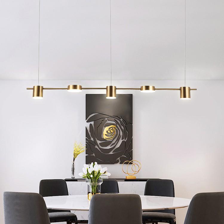 Đèn thả MONSKY CATRE trang trí nội thất sang trọng, hiện đại.