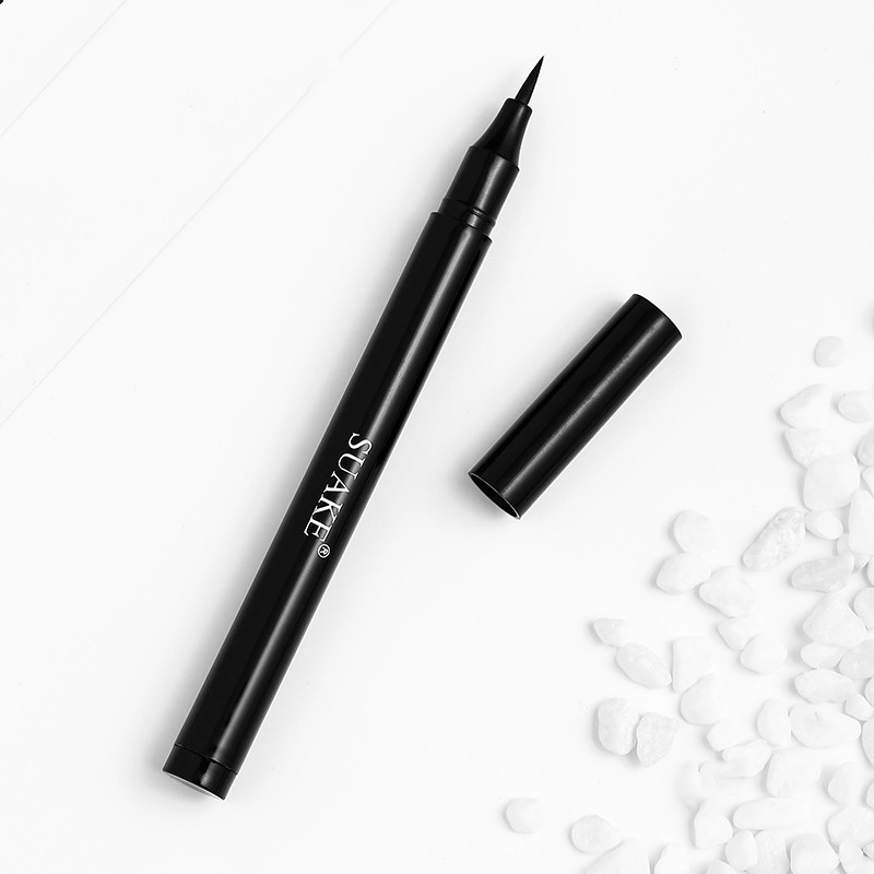 Bút kẻ mắt nước màu đen nhanh khô chống nước lâu phai và lên màu chuẩn