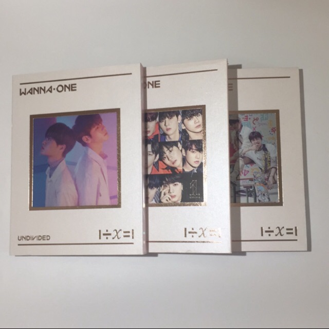 Album Undivided rỗng 3 ver + pos The Heal, Triple Position Giá chỉ 316.000₫
