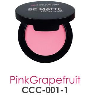 Phấn má hồng City Color BE MATTE BLUSH 15g