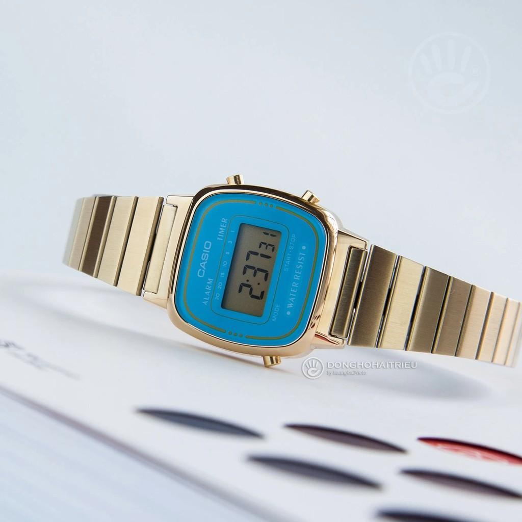 Đồng hồ nữ Casio LA670WGA-2DF