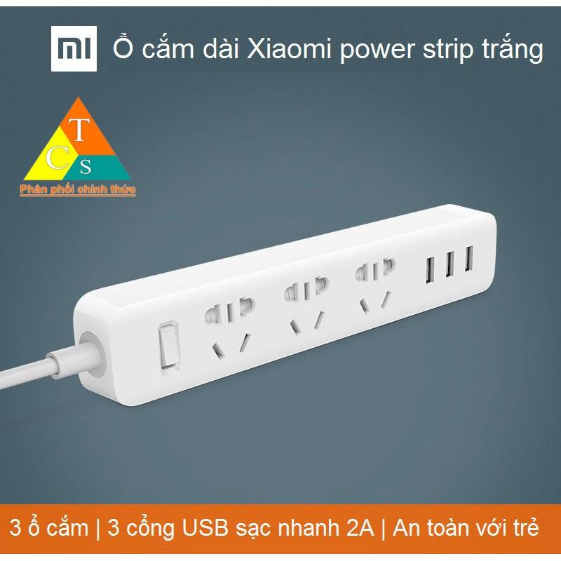 Ổ điện Xiaomi Mi Power Strip Trắng