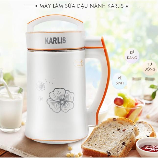 Máy làm sữa đậu nành Karlis- [Đời mới 2018]