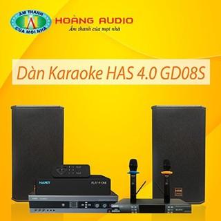 Bộ dàn karaoke gia đình HAS 4.0 GD08S thumbnail