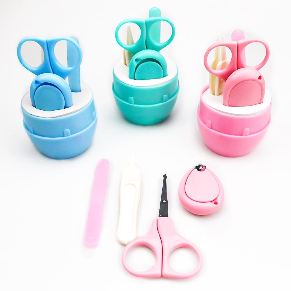 Bộ cắt móng tay hình viên thuốc 4 chi tiết cho bé - dụng cụ bấm móng tay cho trẻ...