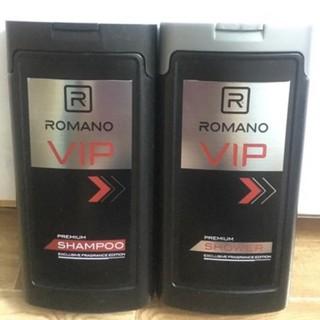 Combo dầu gội và sữa tắm Romano Vip 180g