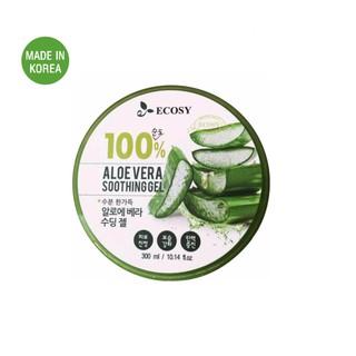 Gel dưỡng da đa năng từ Lô Hội Ecosy Aloe Vera 100% Soothing Gel 300ml thumbnail