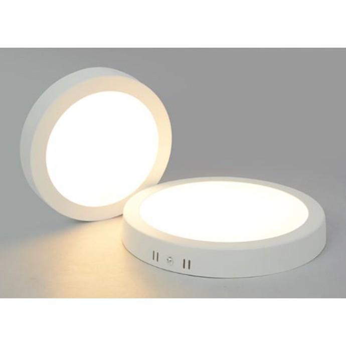 Đèn ốp trần LED gắn nổi 12W vuông, tròn