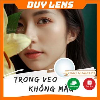 Lens cận trong suốt FREESHIP Kính áp tròng không màu cận thị - Clear lens made in Korea thumbnail