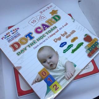 Bộ thẻ học thông minh Dot Card, dạy trẻ học toán