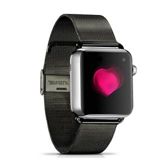 Dây Đeo Inox Milanese Cho Đồng Hồ Thông Minh Apple Watch Series 4 / 5 40mm 44mm 38mm
