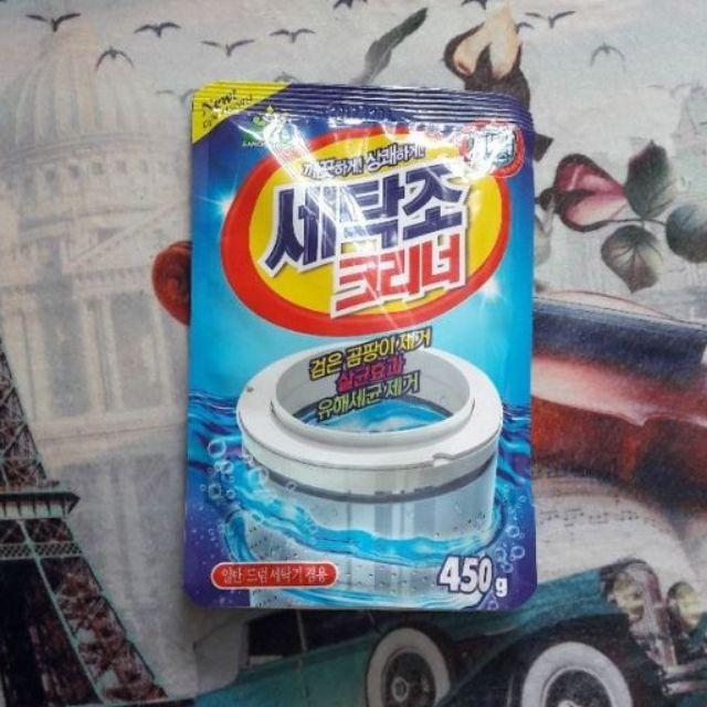 Bột tẩy lồng máy giặt siêu sạch Hàn Quốc - 2767632 , 301740574 , 322_301740574 , 45000 , Bot-tay-long-may-giat-sieu-sach-Han-Quoc-322_301740574 , shopee.vn , Bột tẩy lồng máy giặt siêu sạch Hàn Quốc