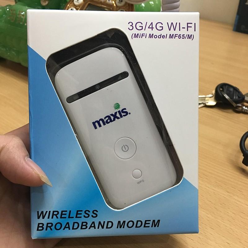 (Free Ship 99k) Bộ phát wifi không dây từ sim 3G/4G ZTE MF65 – Tặng kèm 1 siêu sim 4G và Tai nghe J5 Giá chỉ 389.000₫