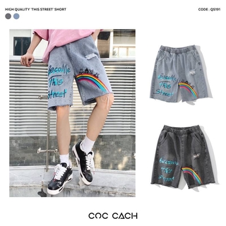Quần shorts in chữ This Street QS191 thumbnail