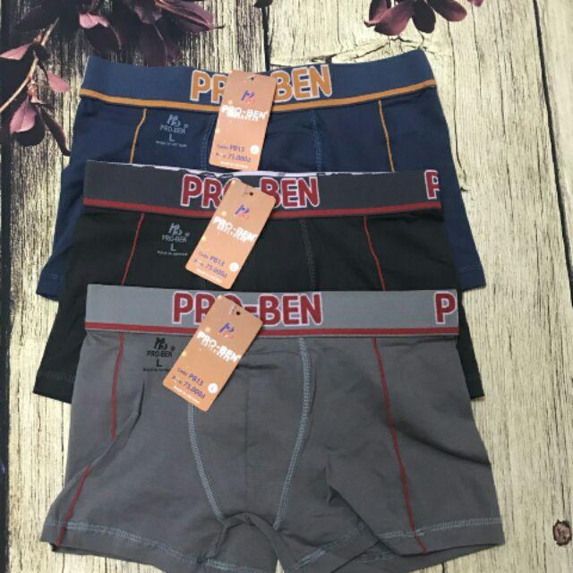 Combo 5 quần lót nam cao cấp PROBEN dạng quần đùi