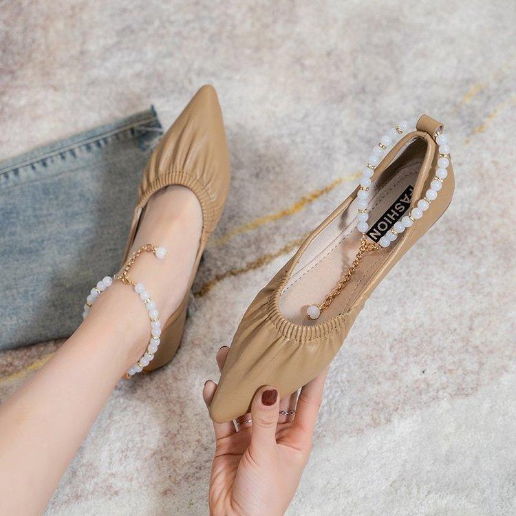 Giày Búp Bê Đế Mềm Thời Trang 2021 Cho Nữ