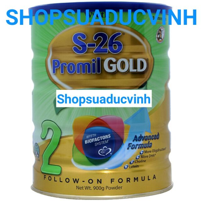 Sữa bột Wyeth S-26 Promil Gold 2 900g date 01/2019