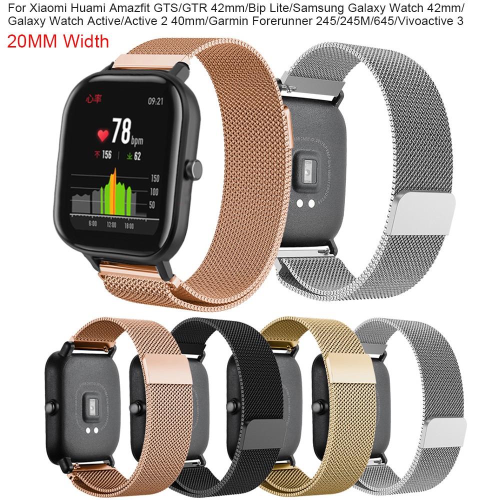Dây đeo đồng hồ thay thế cho Xiaomi Huami Amazfit GTS/GTR/Amazfit Bip Lite/Samsung Galaxy Watch Active 2/Galaxy 42mm